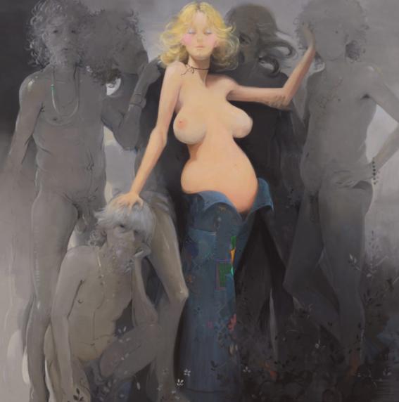 pinturas de lisa yuskavage 11