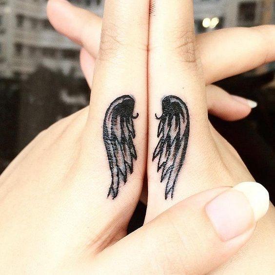 Tatuajes De Alas Para Mujeres Con Sueños Infinitos Diseño Diseño