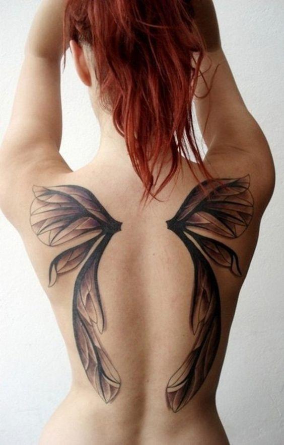 tatuajes de alas para mujeres 2