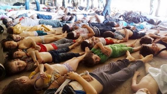 culpan a siria por ataque con armas quimicas 1