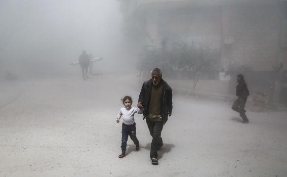 culpan a siria por ataque con armas quimicas 2
