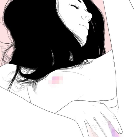 ilustraciones eroticas de nryk black 1