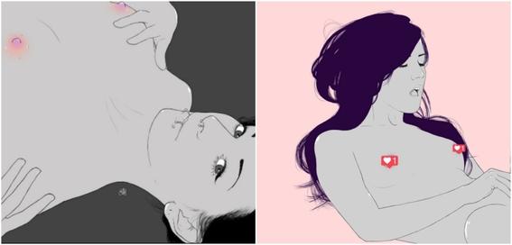 ilustraciones eroticas de nryk black 5