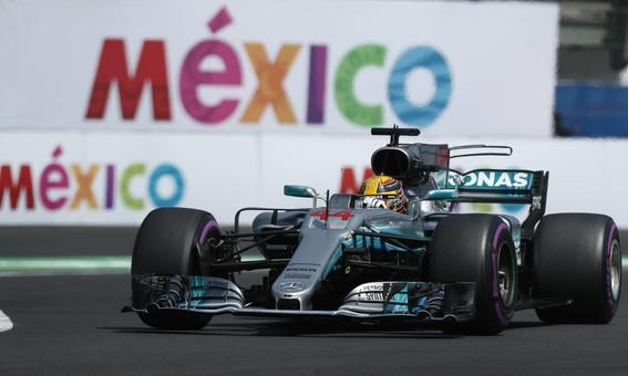 lewis hamilton gana la formula uno en mexico 1