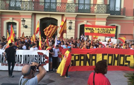 marchan en barcelona por la union de espana 3