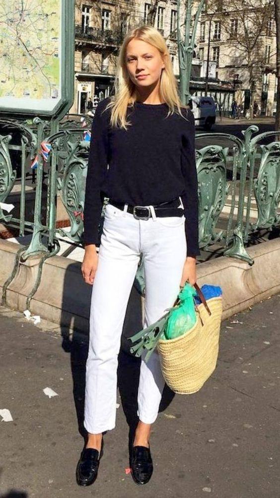 Errores que cometes al usar jeans blancos y cómo solucionarlos 9
