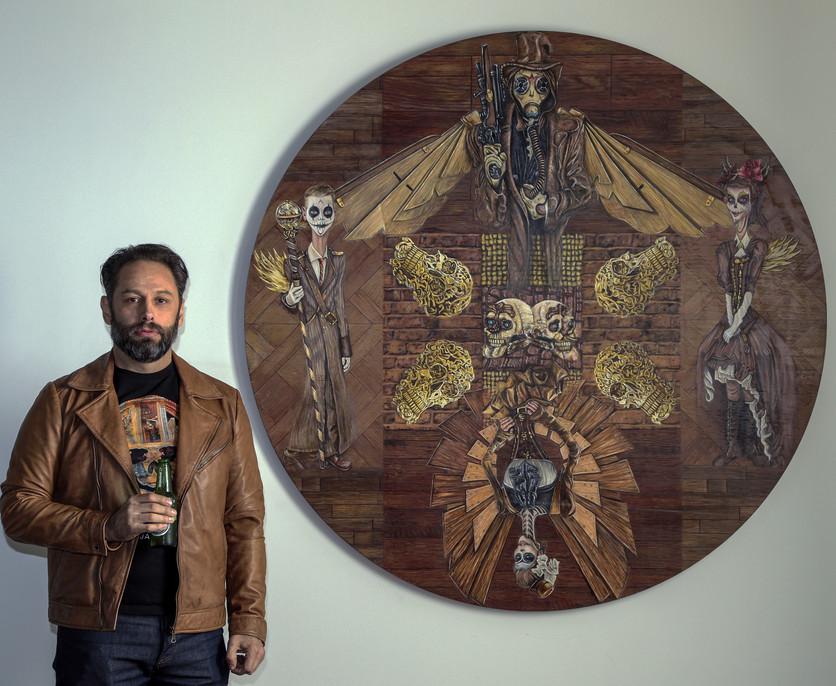 Raúl Serralde: el artista mexicano que retrata la belleza surrealista y pop de la muerte 5