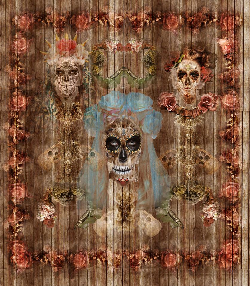 Raúl Serralde: el artista mexicano que retrata la belleza surrealista y pop de la muerte 3