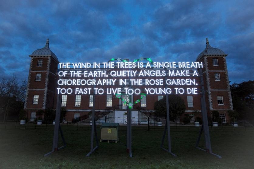7 poemas punks de Robert Montgomery 0
