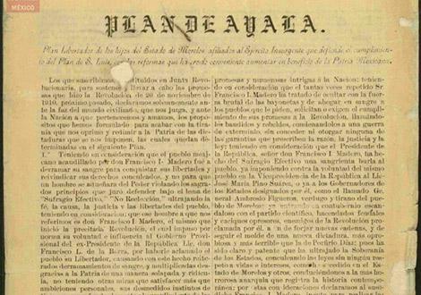 planes de la revolucion mexicana 2
