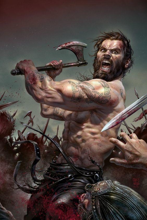 Berseker: los sanguinarios guerreros vikingos que peleaban drogados en nombre de Odín 5