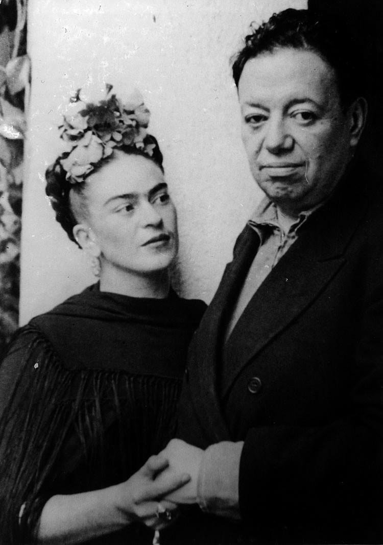 Ilustraciones de los 4 amores que cambiaron la vida de Frida Kahlo 0