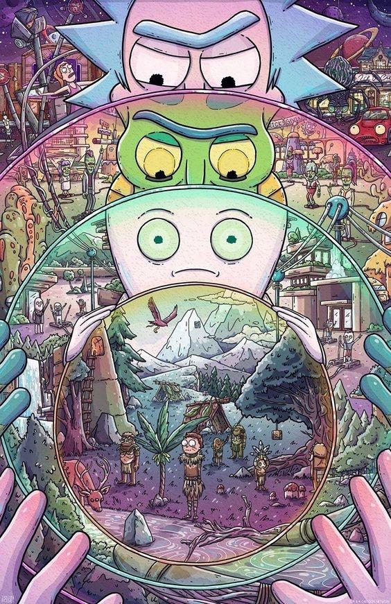Razones por las que, según Rick y Morty, podríamos vivir en un multiverso 0