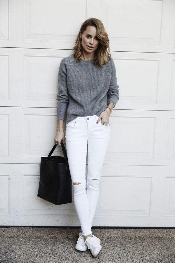 Errores que cometes al usar jeans blancos y cómo solucionarlos 7