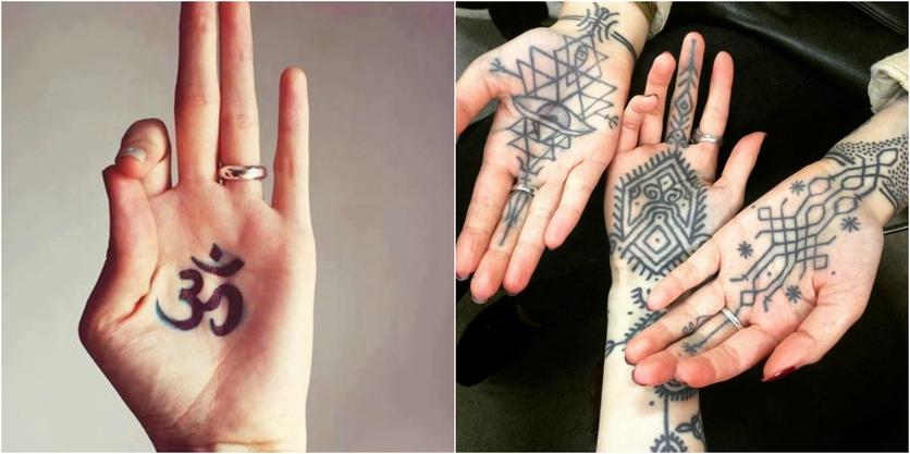 18 Tatuajes En La Palma De La Mano Que No Valen La Pena Diseño