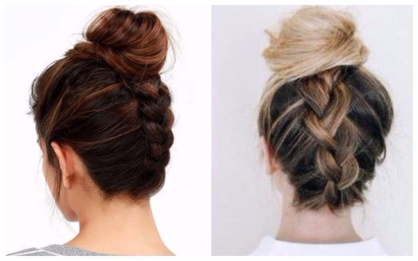 6 peinados que puedes hacerte en menos de 15 minutos cuando no quieres arreglarte 3