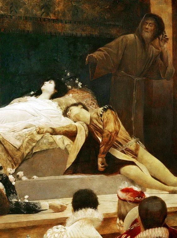 pinturas de romeo y julieta 1