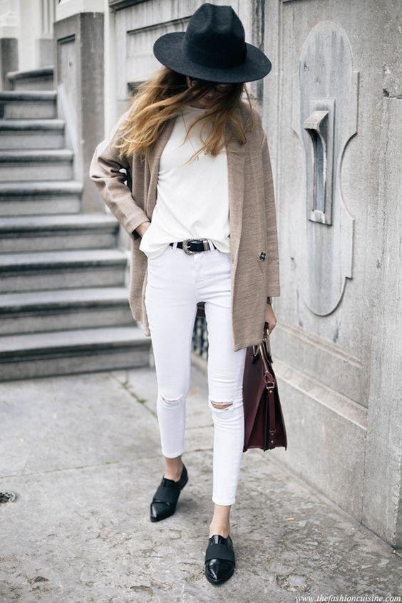 Errores que cometes al usar jeans blancos y cómo solucionarlos 10