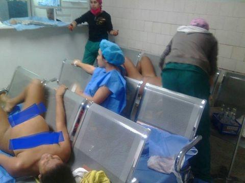 mujeres de venezuela pariendo en sala de espera 1