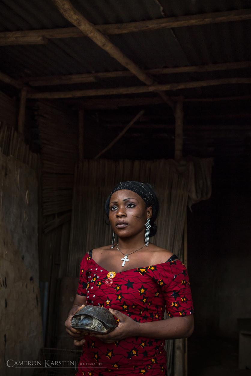 24 fotografías de sacrificios y vudú en África 6