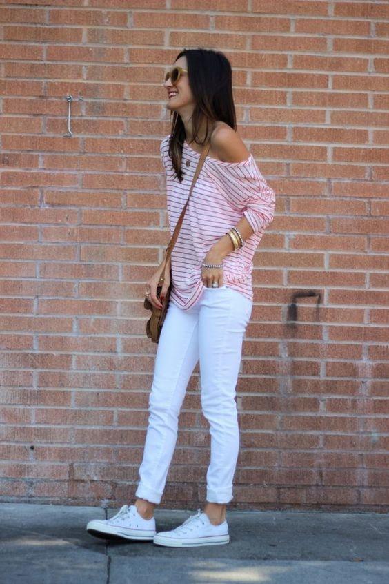 Errores que cometes al usar jeans blancos y cómo solucionarlos 4