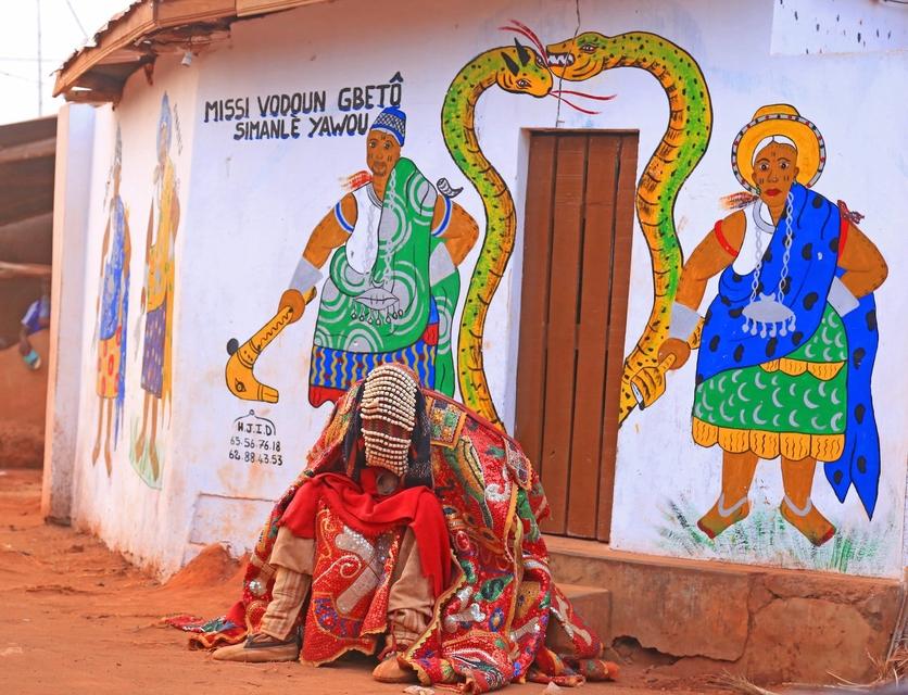 24 fotografías de sacrificios y vudú en África 22