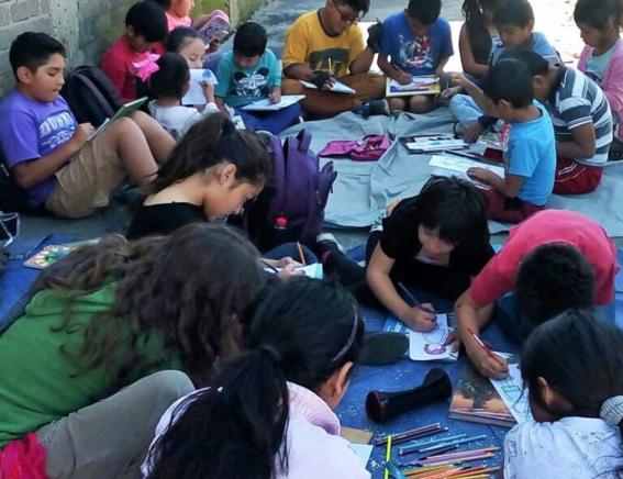 bibliotecas de calle atd cuarto mundo mexico 3