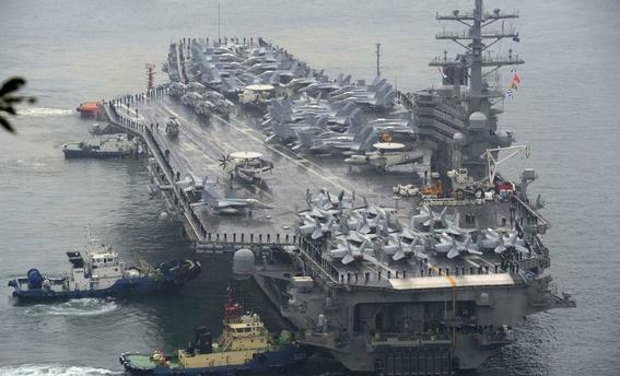 eua envia submarino a corea del sur 1