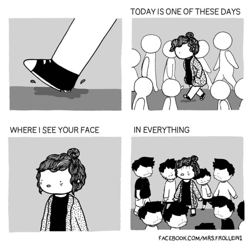 Ilustraciones de los momentos incómodos que sólo tienes con el amor de tu vida 16