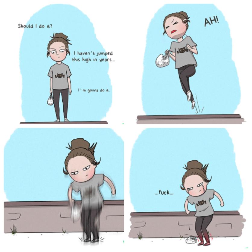 Ilustraciones de mujeres y sus problemas 1
