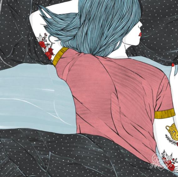 never forever love and heartbreak illustrations 7
