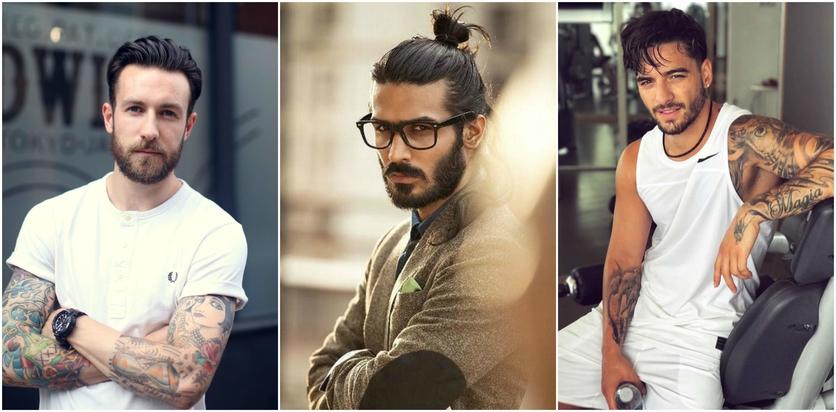Cortes de cabello perfectos para hombres con barba 2