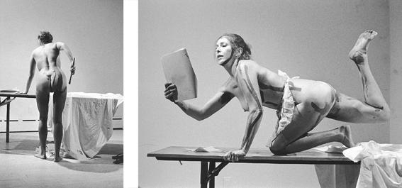 mujeres que usaron su cuerpo para hacer arte 4