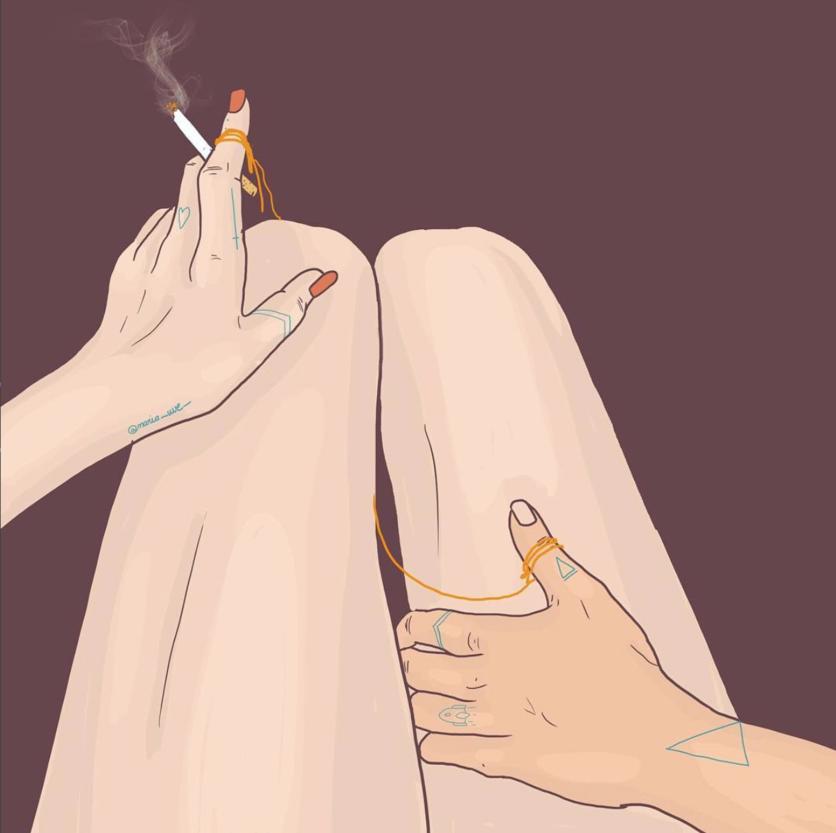 Ilustraciones de María Uve para darte cuenta de que estás con el amor de tu vida 4