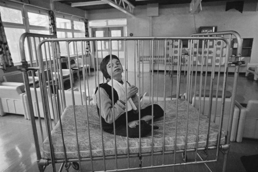 Fotografías históricas de cómo se vivía en un manicomio 8
