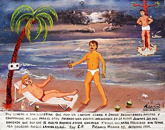 Milagros de éxtasis, homosexualidad y fortuna en 19 obras de arte 14