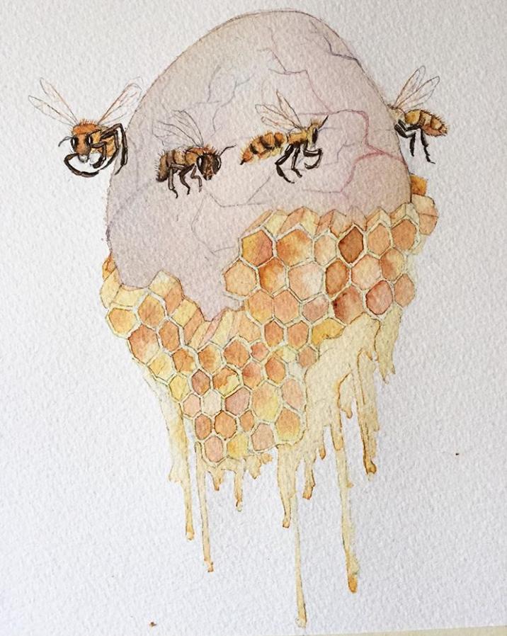 30 dibujos, 30 días: noviembre es de Alejandra Alarcón 28
