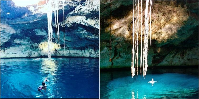 8 cenotes en Yucatán para encontrarte con el inframundo maya 5