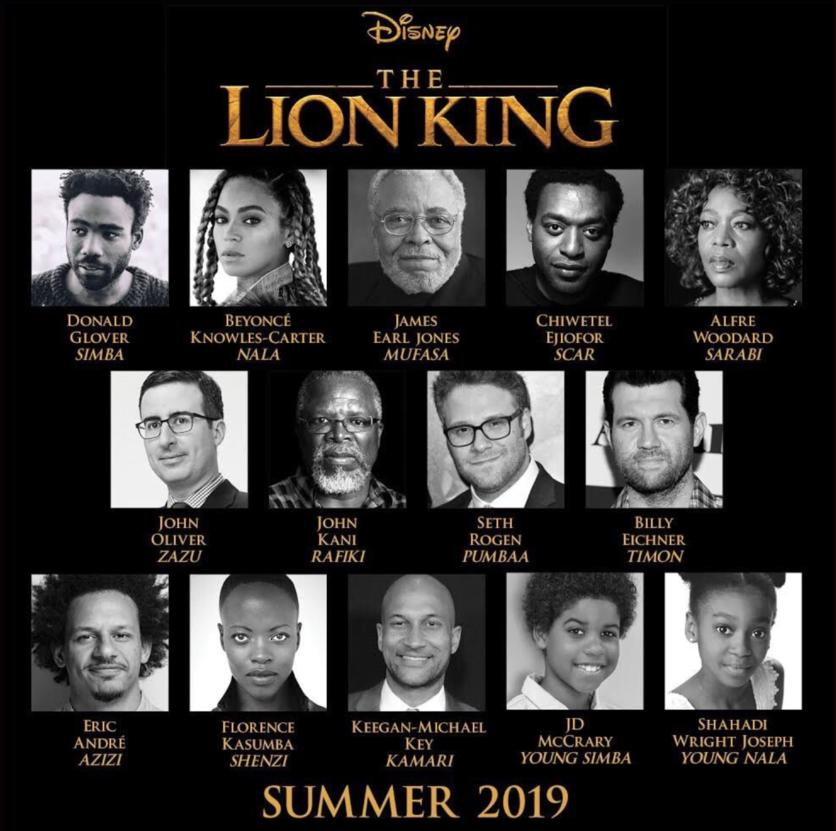 Datos sobre la nueva película de 'El Rey León' 1