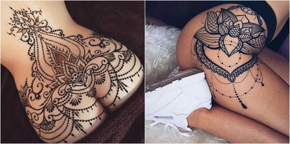 tatuaje en los gluteos 3