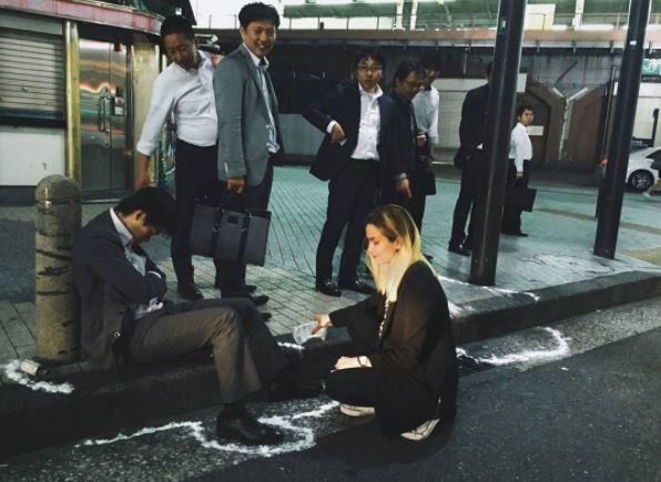 Muerte por cansancio: 18 fotografías de explotación y derrota en Japón 12