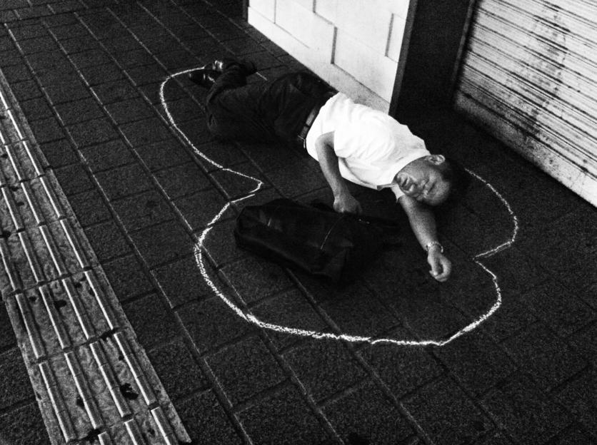 Muerte por cansancio: 18 fotografías de explotación y derrota en Japón 11