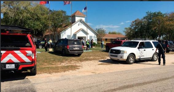 tiroteo a iglesia en texas 1