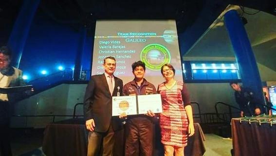 sin apoyo estudiante mexicano gana premio de la nasa 1