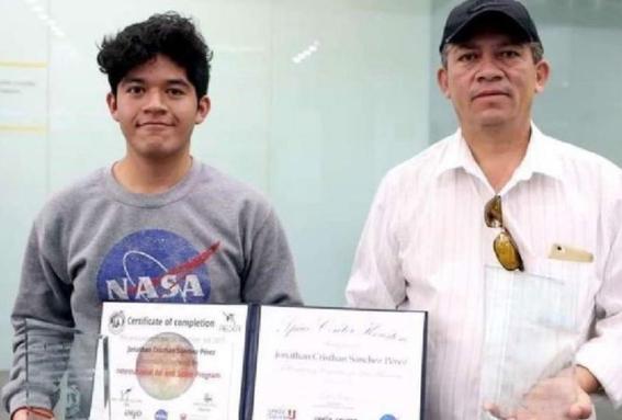 sin apoyo estudiante mexicano gana premio de la nasa 3
