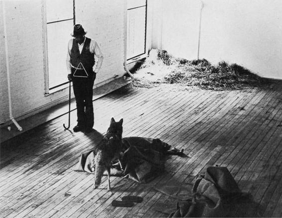 performance coyote joseph beuys 4