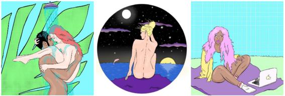 ilustraciones de alein slut 4