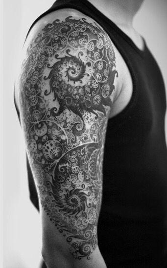 tatuajes fractales 9