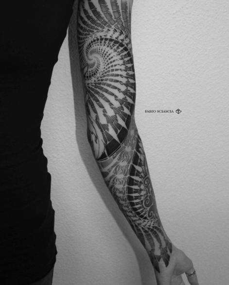 tatuajes fractales 2