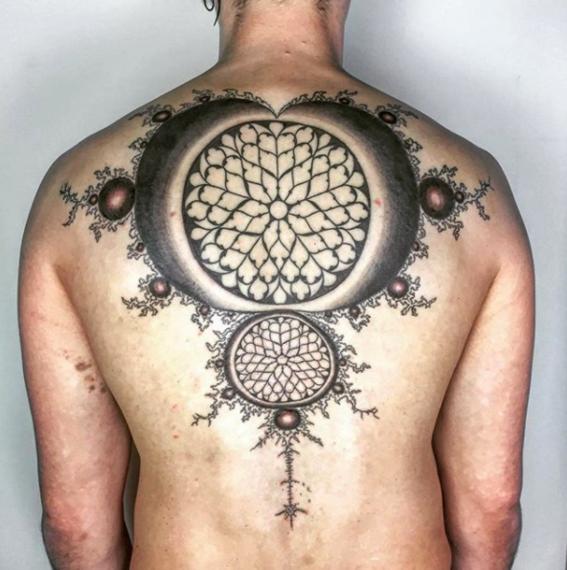 tatuajes fractales 10